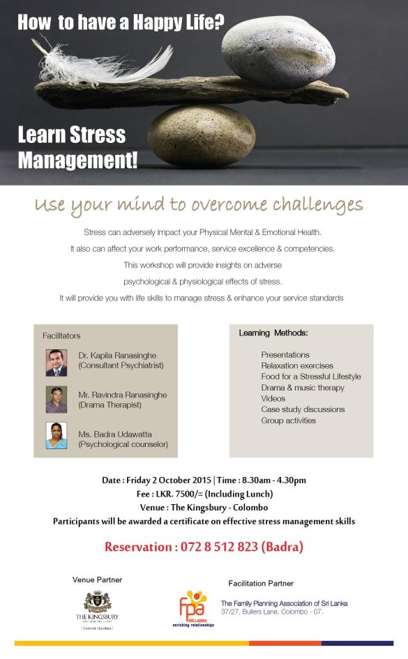 Stress Mangement 2015(3)